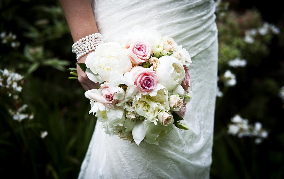 Wedding Bouquet, Flowers, Roses, Bridal, Wedding