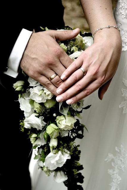 Bride And Groom, Hands, Wedding, Love, Marry, Before