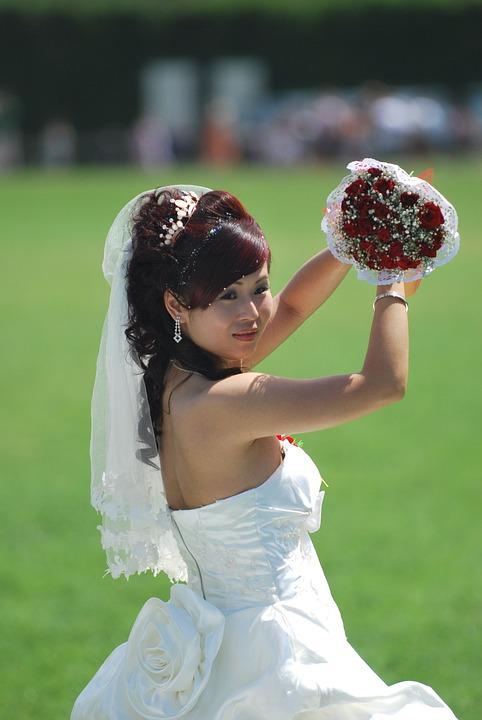 Wedding, Bride, Pisa, Asian, Beautiful
