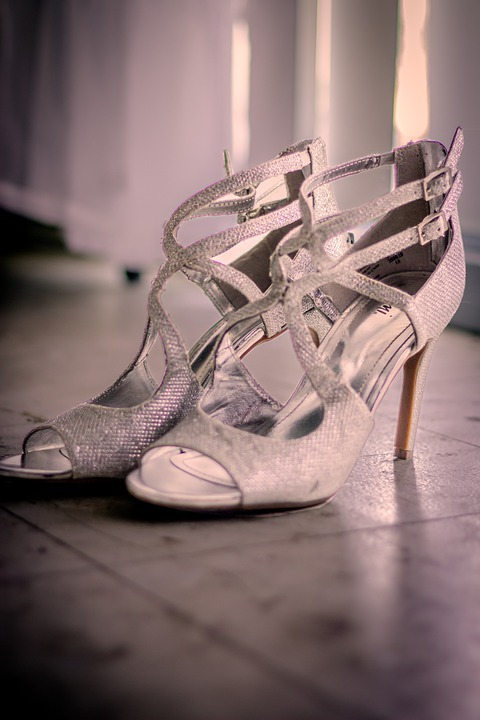 Wedding, Shoes, Bridal, Bride, Footwear