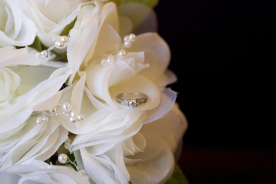 Wedding, Bouquet, Bridal, Marriage, White, Bride