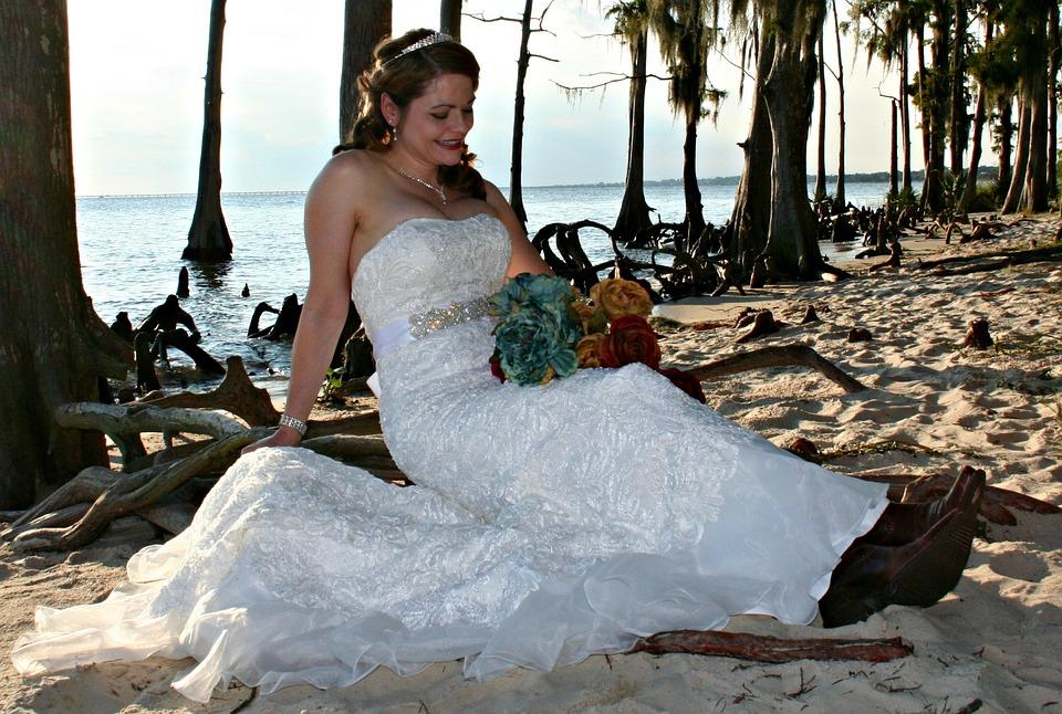 Wedding, Bride, Floral, Bridal, Portrait, Romance