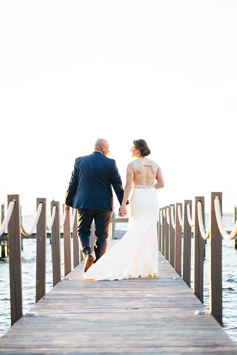 Wedding, Couple, Husband Wife, Marriage, Bride