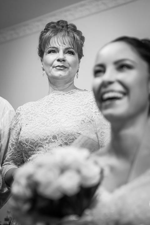 Bride, Emotions, Merriage, Parent, Portrait, People