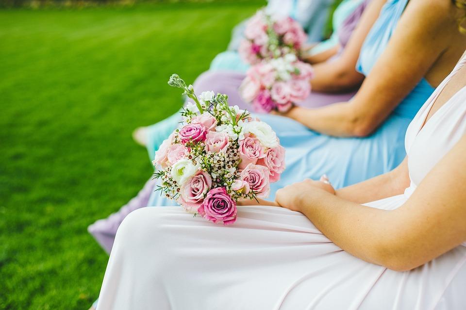 Free photo Bridesmaids Flowers Wedding Bridesmaid Flowers - Max Pixel