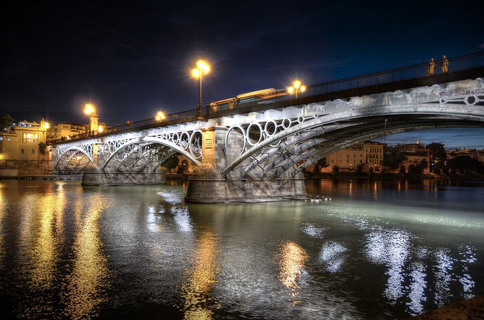 Triana, Bridge, Seville, City, Andalusia, Architecture