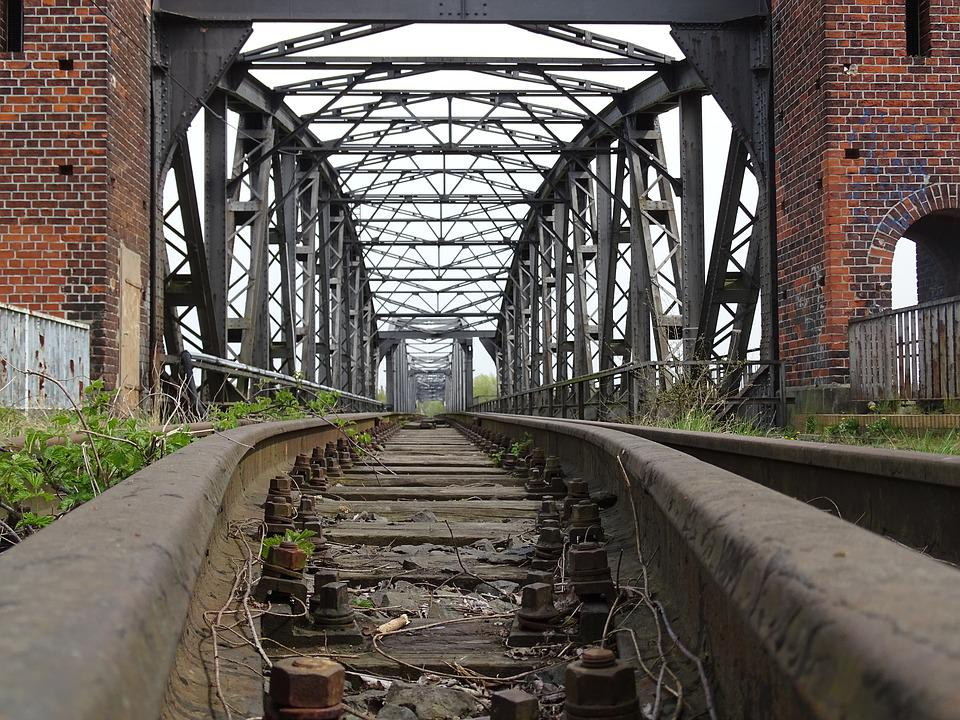 Bridge, Railway Bridge, Architecture, Railway