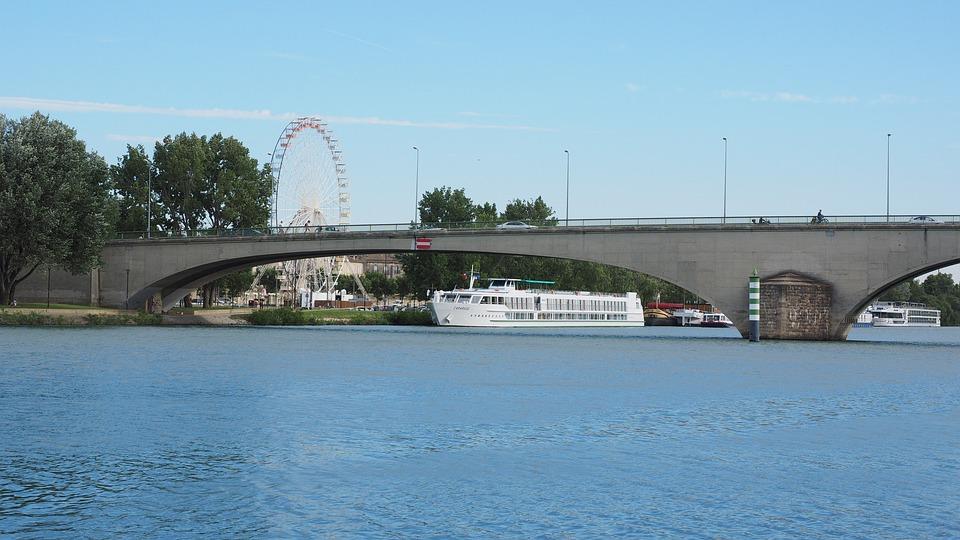 Avignon, Bridge, Rhône, Pont édouard Daladier