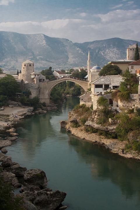 Mostar, Bridge, Bosnia And Herzegovina, War