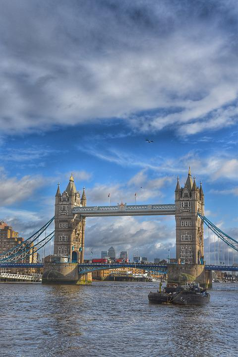 London, Londres, England, British, Uk, Bridge, Tower
