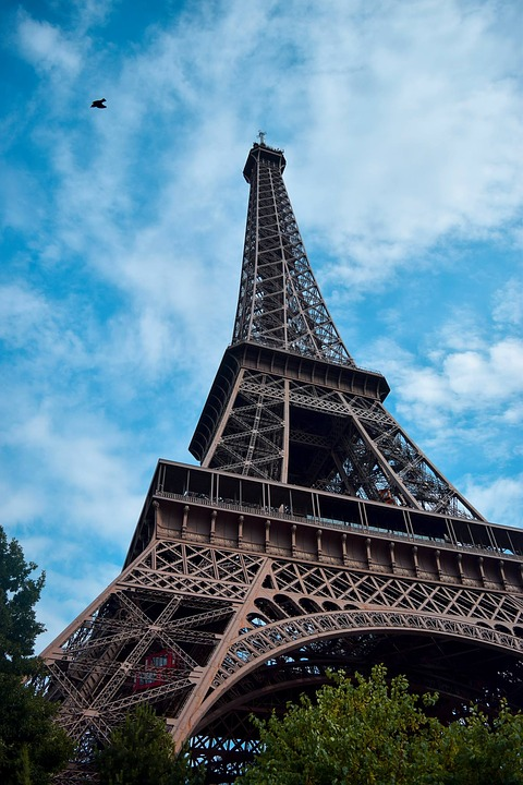 Paris, France, City, Eiffel Tower, Europe, Bridge