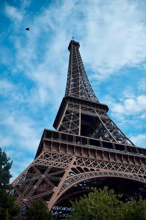 Paris, France, City, Eiffel Tower, Europe, Bridge