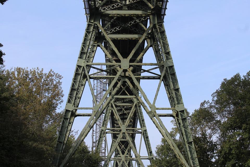 Bridge, Steel Beams, Bridge Carrier, Construction