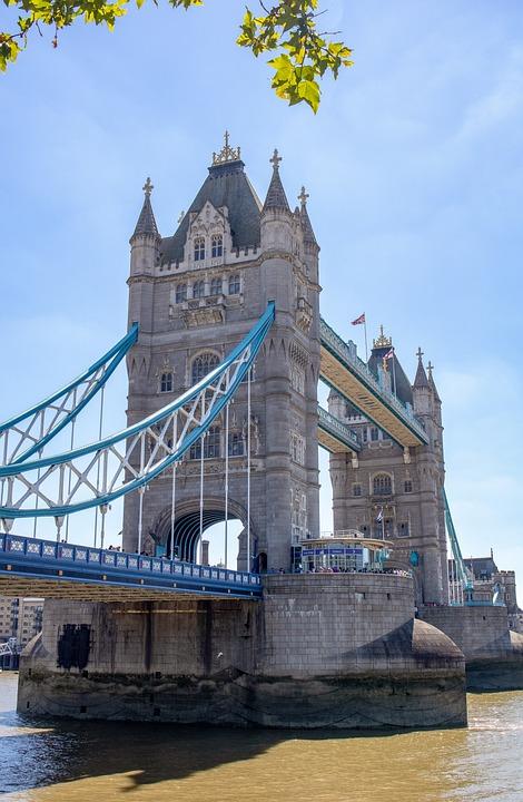 London, Tower Bridge, England, Bridge, Landmark