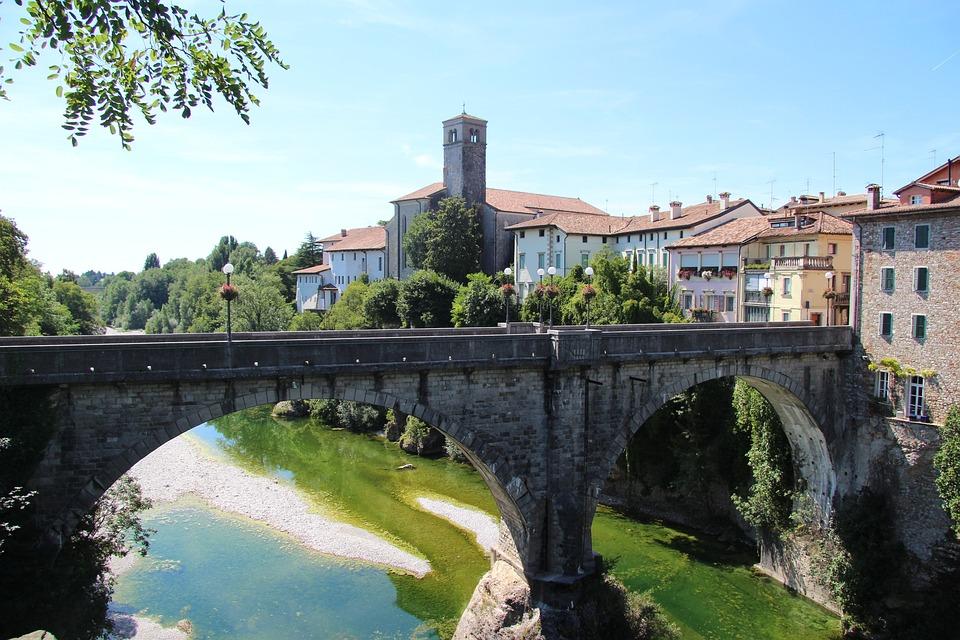 Bridge, Friuli, Northeast-italy
