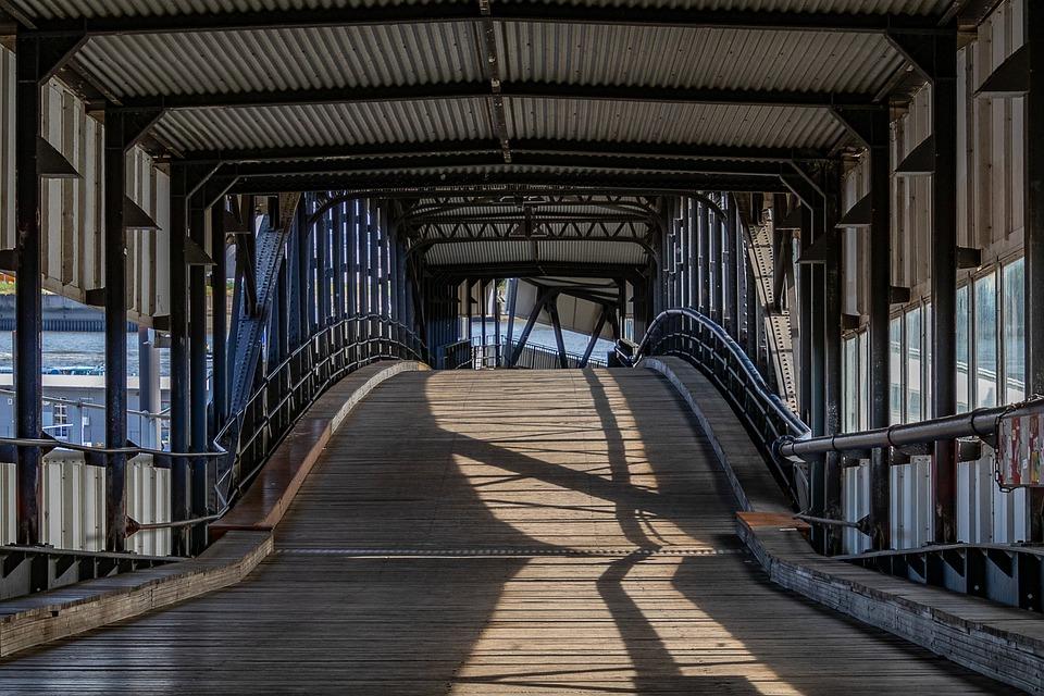 Overseas Bridge, Hamburg, Bridge, Port, Port Motifs, Hh