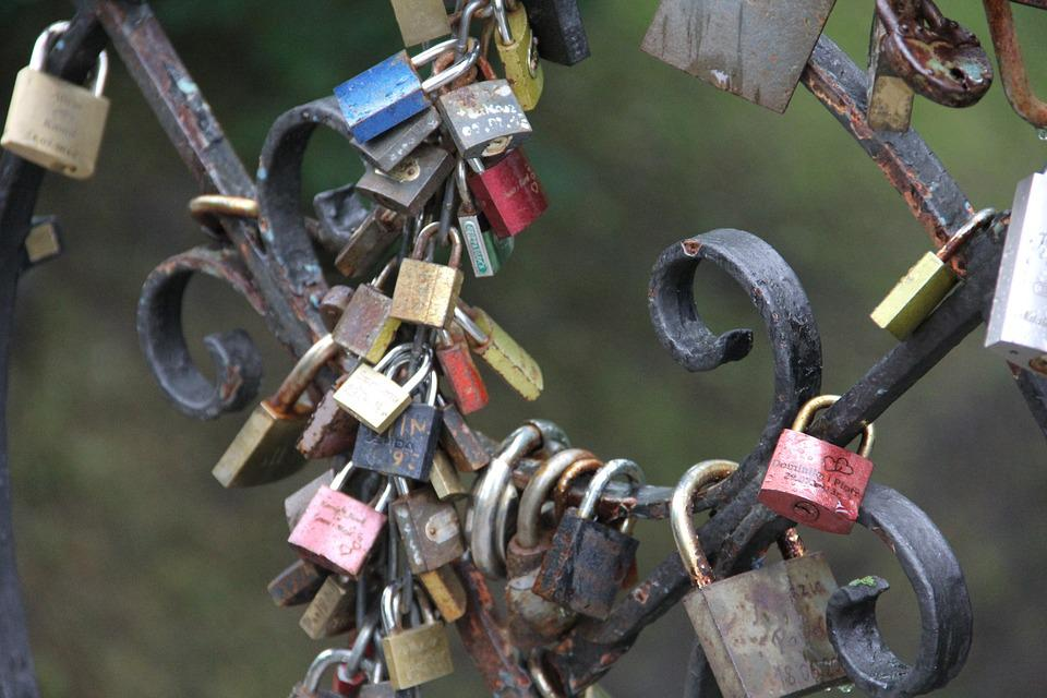 Padlocks, Love, Memory, Bridge Lovers, Close