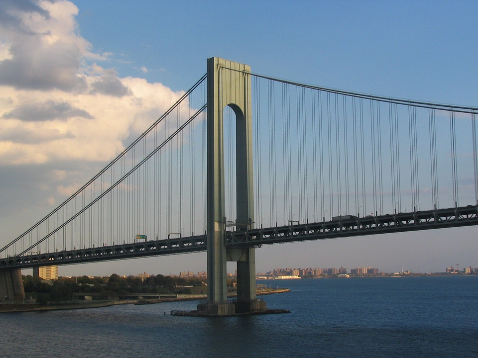 Verrazano, Bridge, New York, Architecture Design