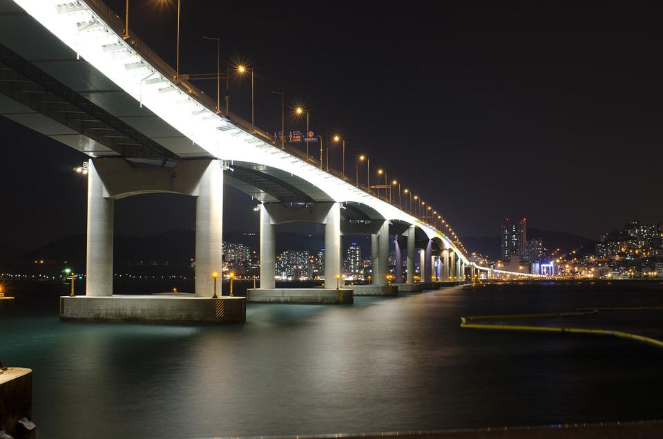 Bridge, Night View, Hang Bridge