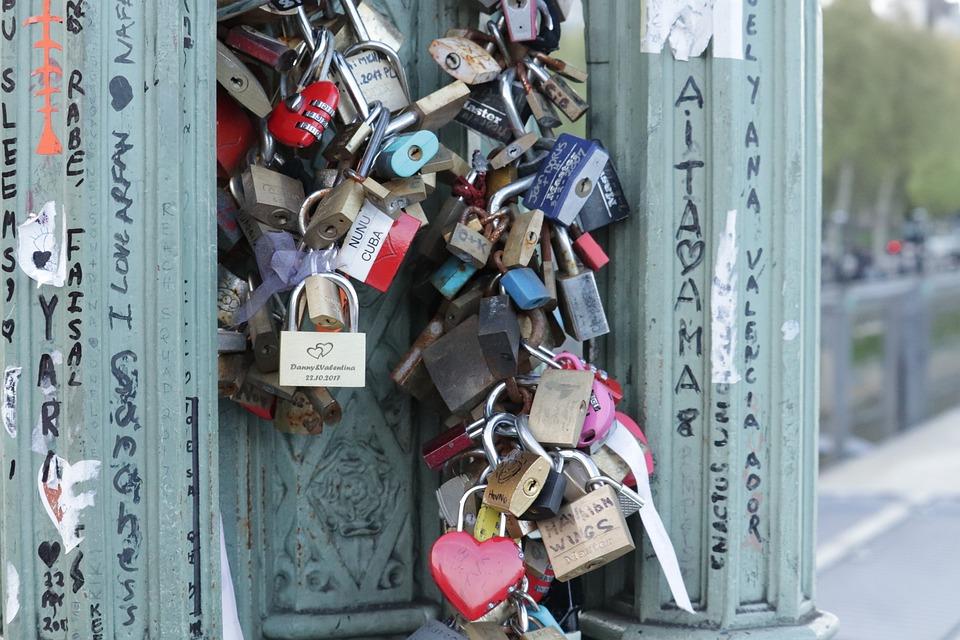 Padlocks, Bridge, Love, Padlock, Romantica, Promise