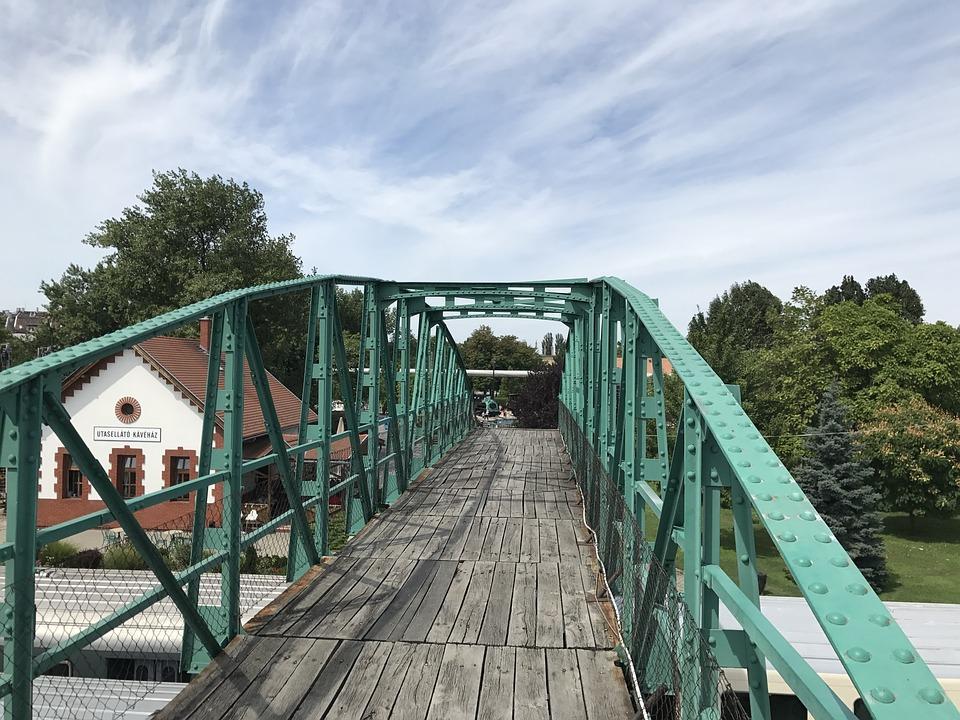 Railway Overpass, Bridge, Railway History Park