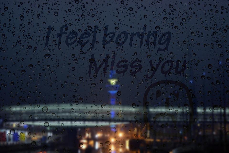 free photo bridge rainy day window pane boring max pixel