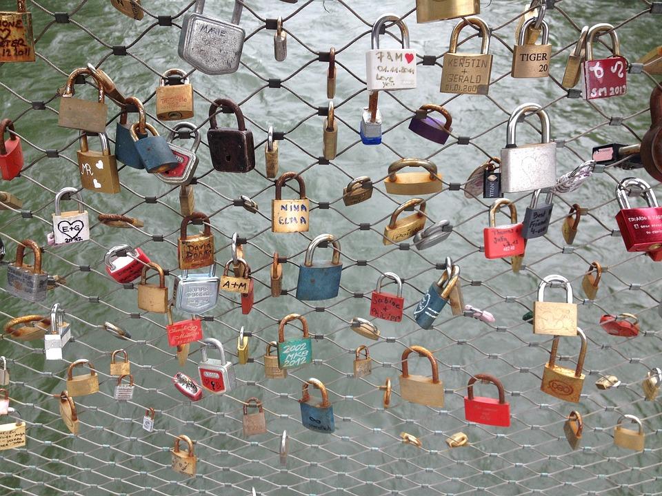 Romance, Love, Symbolism, Castles, Bridge, River