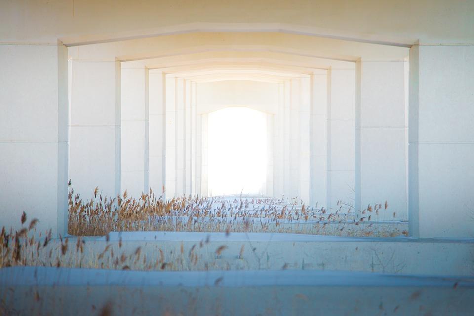 Bridge, Tunnel, Door, Building, Architecture, Structure