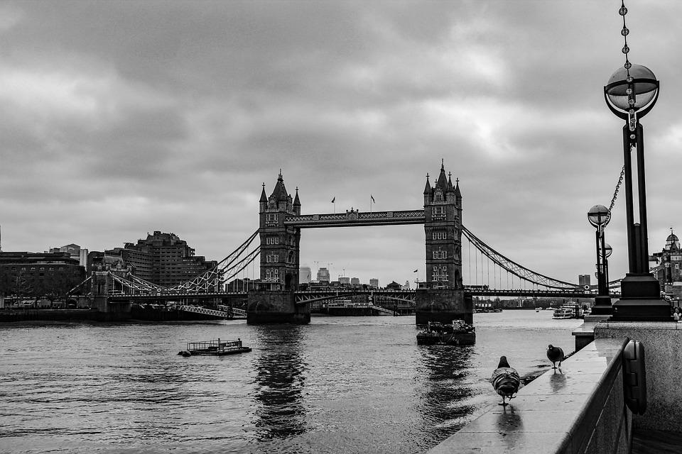 Bridge, Waters, Suspension Bridge, River, Transport