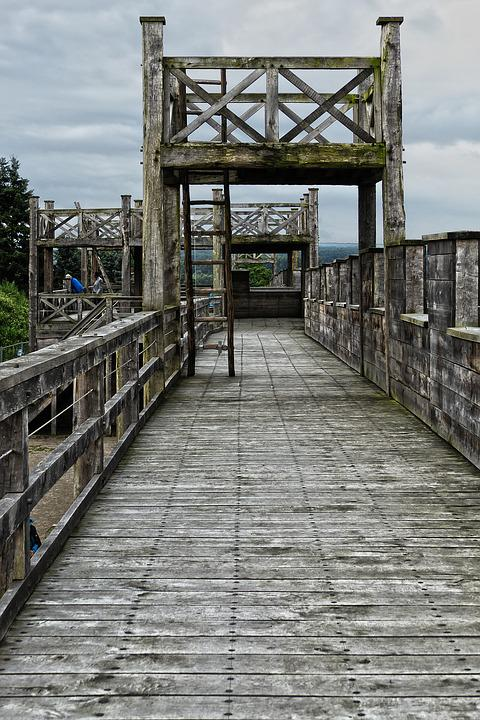 Timber Construction, Wood Construction, Bridge