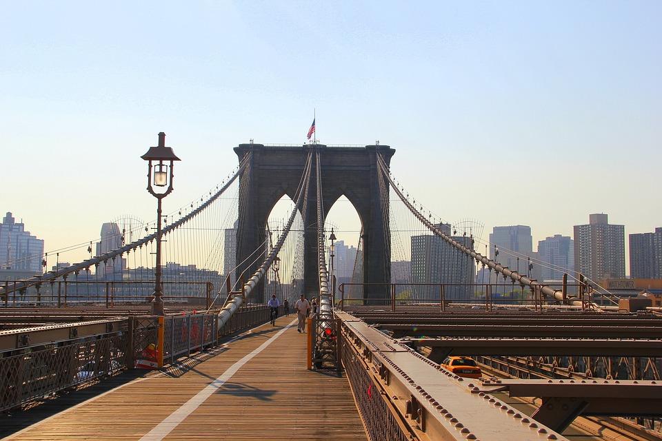 Bridge, Burklin, Travel, New York