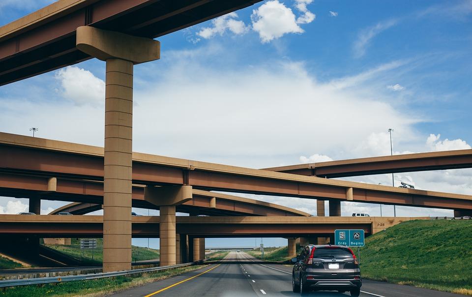 Architecture, Asphalt, Automobile, Bridges, Car