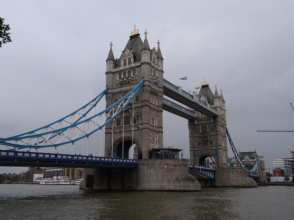 London, Tower Bridge, Bridges, England, United Kingdom