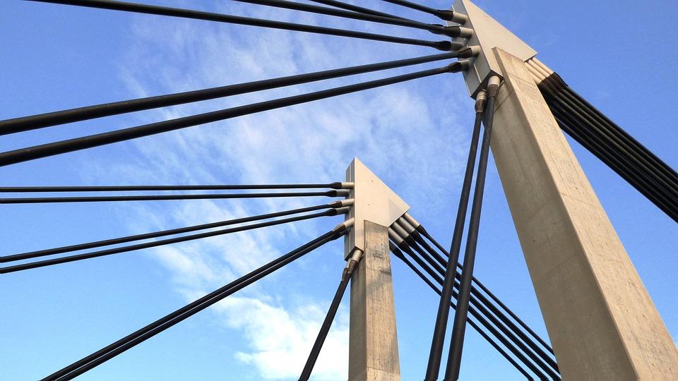 Bridge, Fence Bay, The Design Of The, Bridges, Hanging