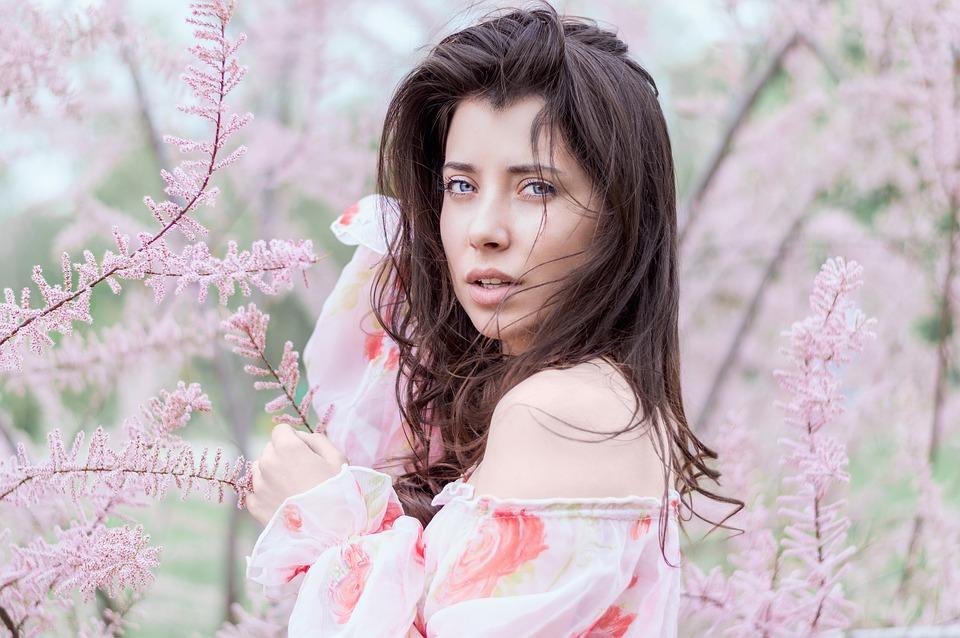 Beautiful, Bright, Fashion, Female, Flora, Flowers