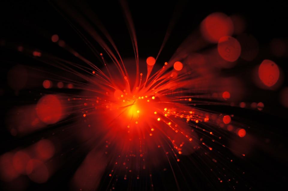 Light, Orange, Bright, Art, Color, Design, Red, Glow