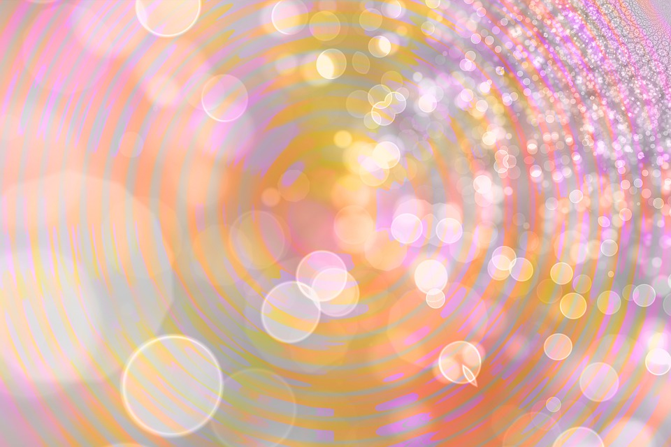 Bokeh, New Age, Background, Color, Slightly, Bright