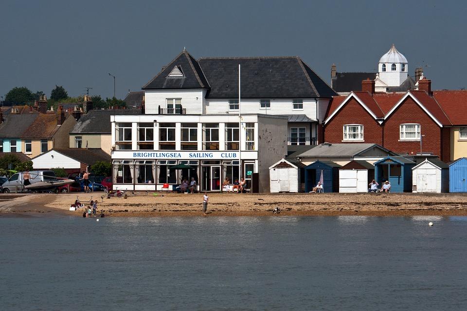 Brightlingsea, Sailing Club, Cottages, Summer