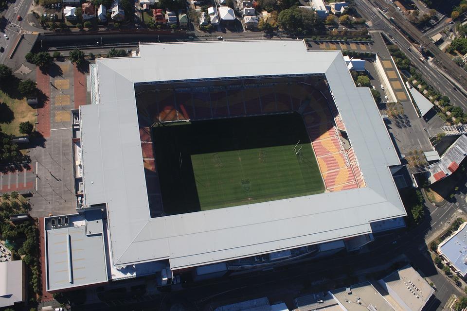 Stadium, Brisbane, Aerial View, Sport