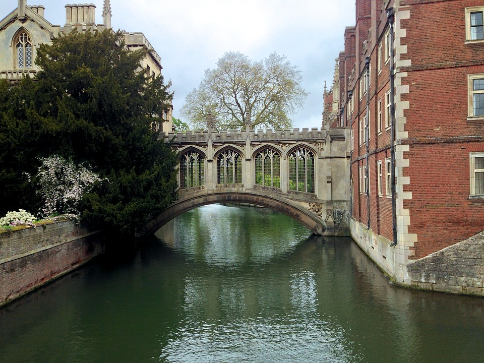 Bridge, Cambridge, Architecture, Britain, University