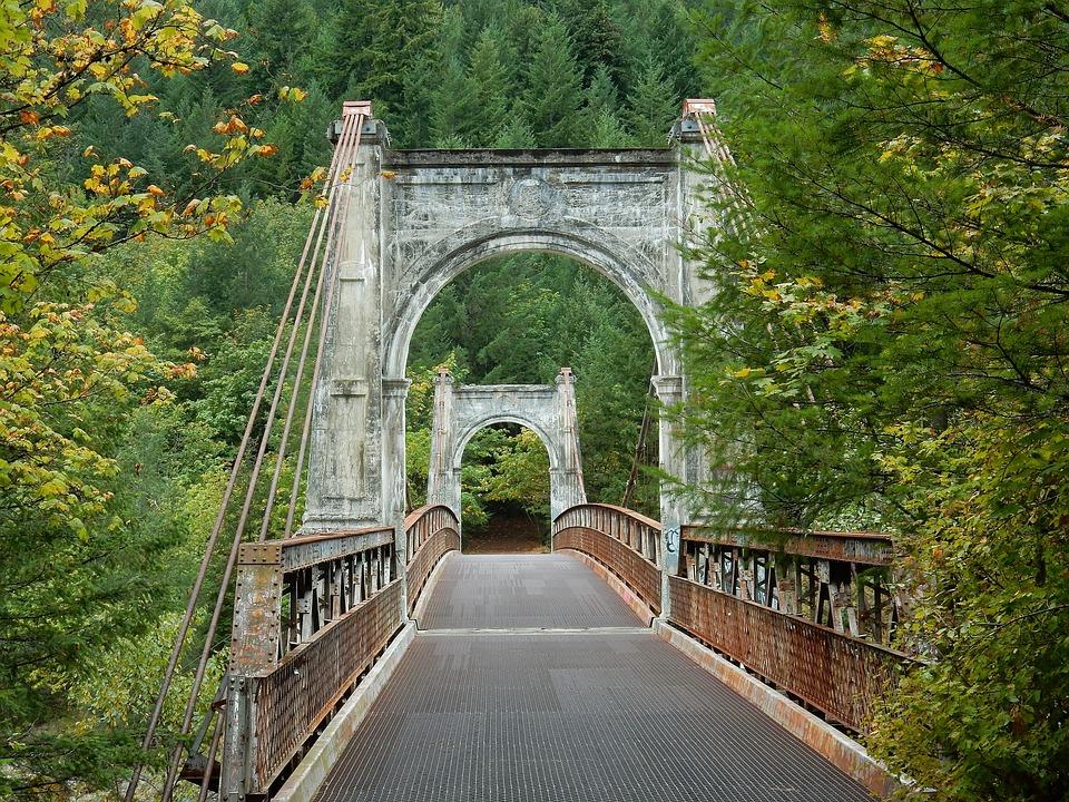 Alexandra Bridge, Fraser River, British Colombia