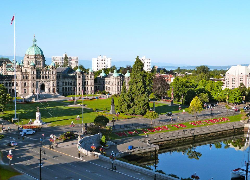 British Columbia, Parliament, Victoria, Architecture