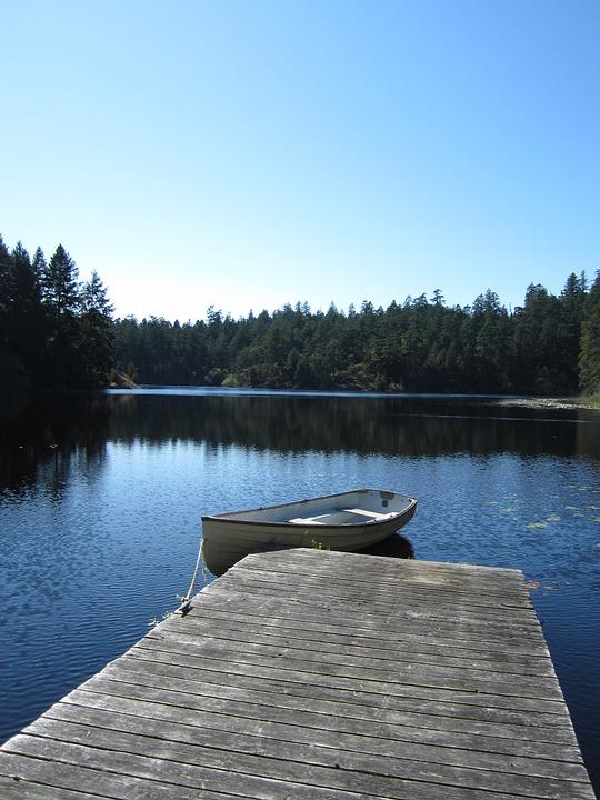 Lake, Peaceful, Nature, Victoria, British Columbia
