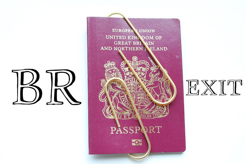 Brexit, Passport, Control, Closed, Sealed, British