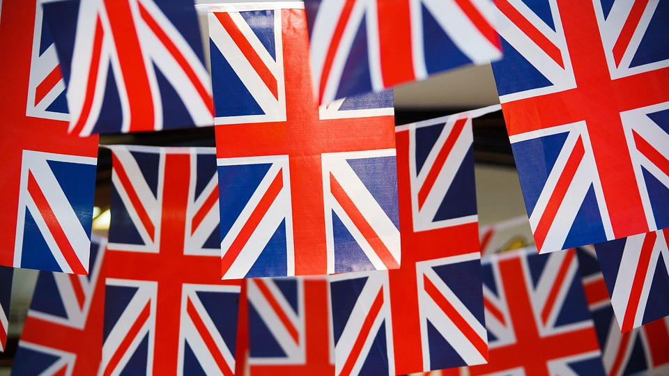Banner, Great Britain, British, Bunting, Celebration