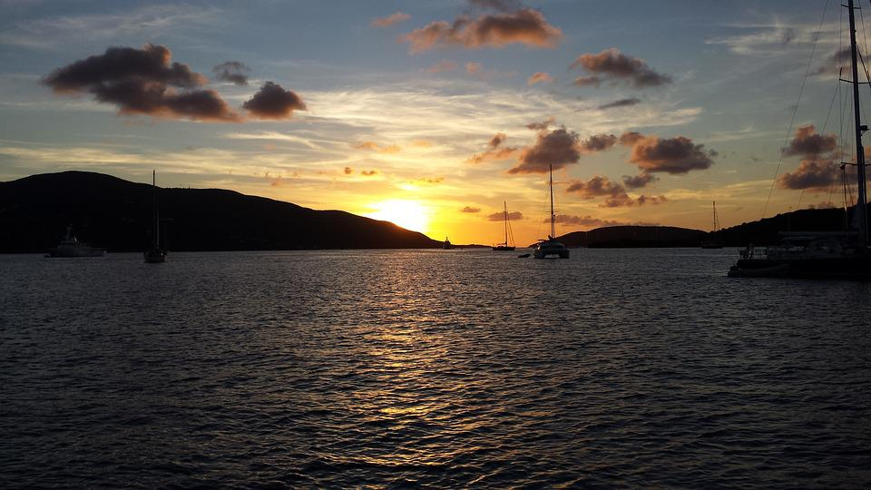 Bvi, British Virgin Islands, Sailing, Caribbean, Ocean