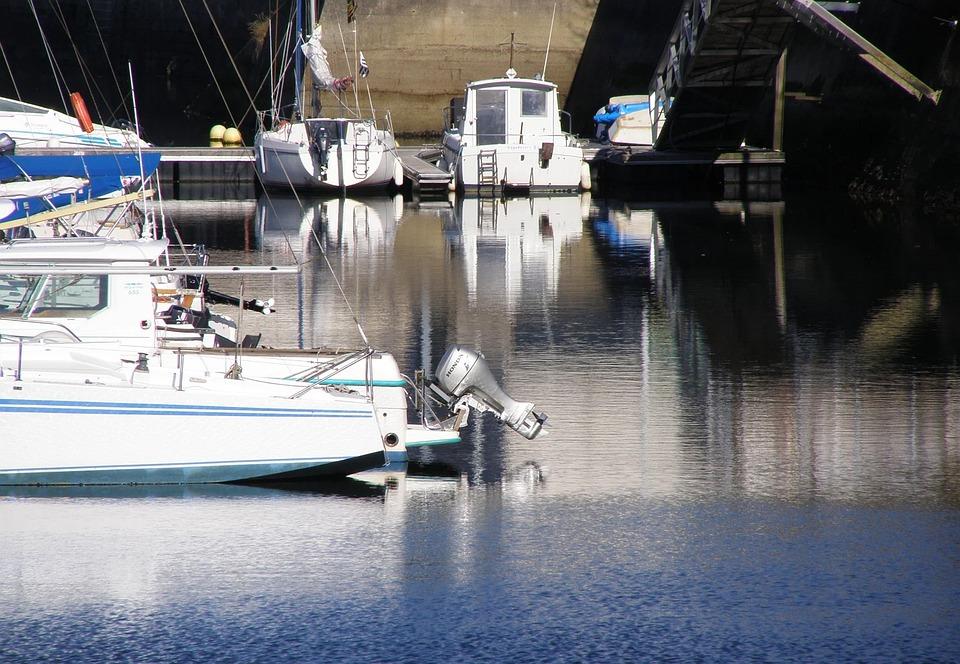 Port, Boats, Old Ships, Wrecks, Brittany, Sea, Holiday