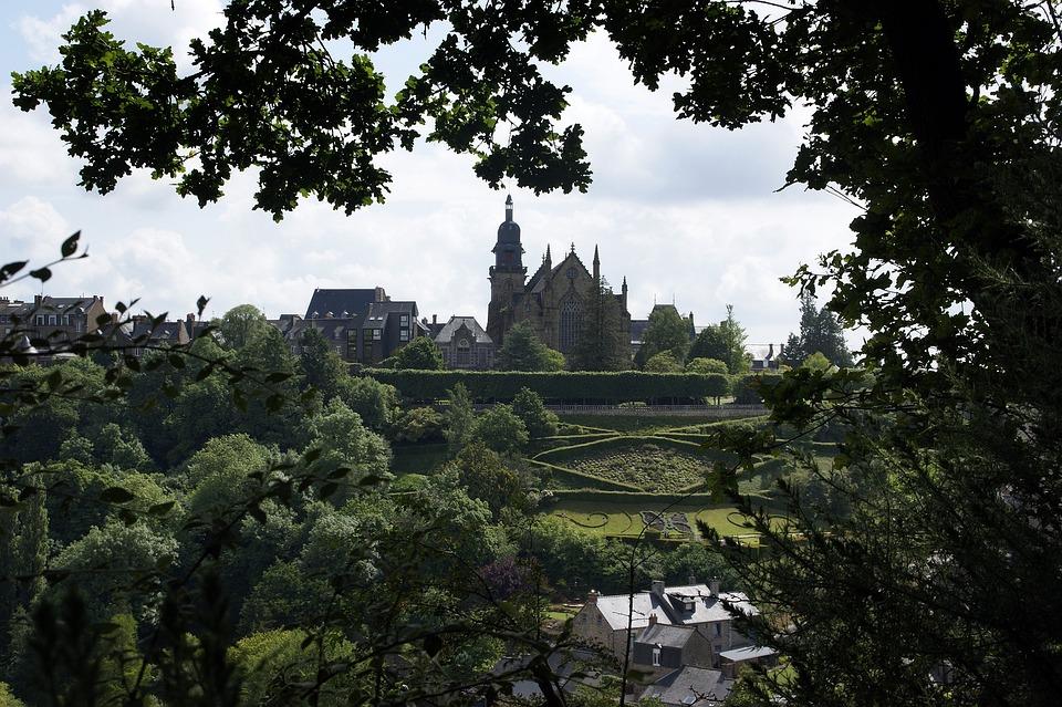 Ferns, Brittany, Ille-et-vilaine, Saint-léonard, Church