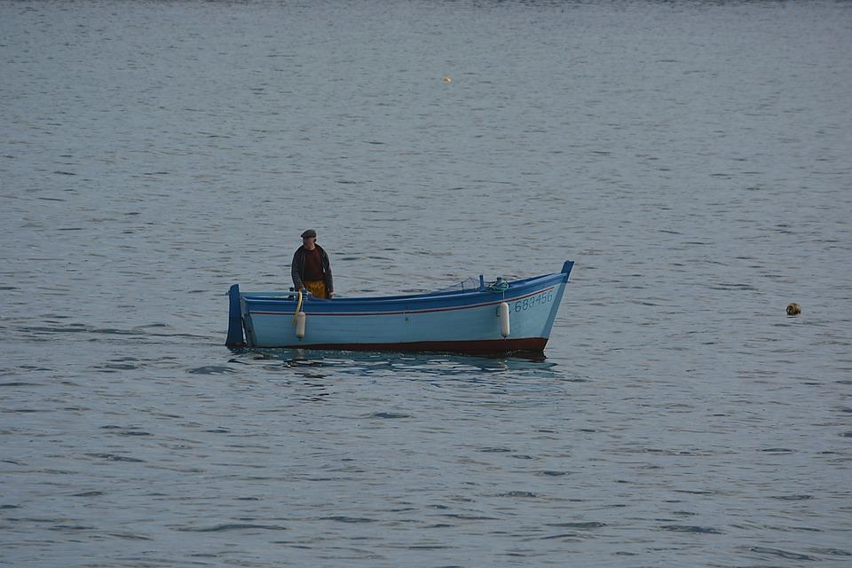 Boat, Water, Fishermen, Fishing, Wooden Boat, Brittany