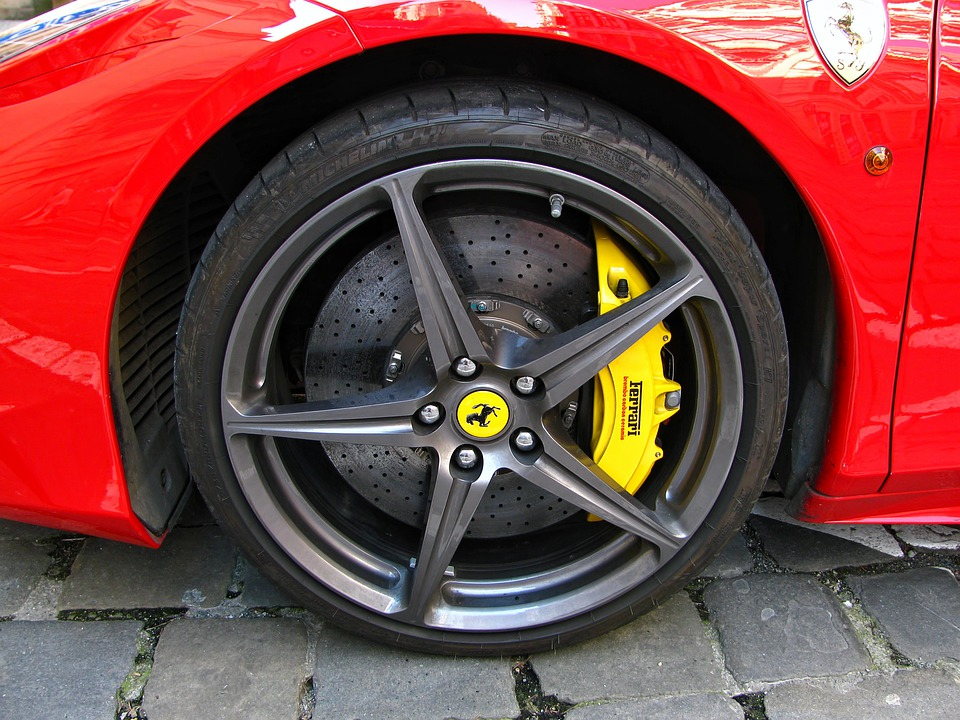 Ferrari, Tyre, Tire, Wheel, Brno, Racing Car